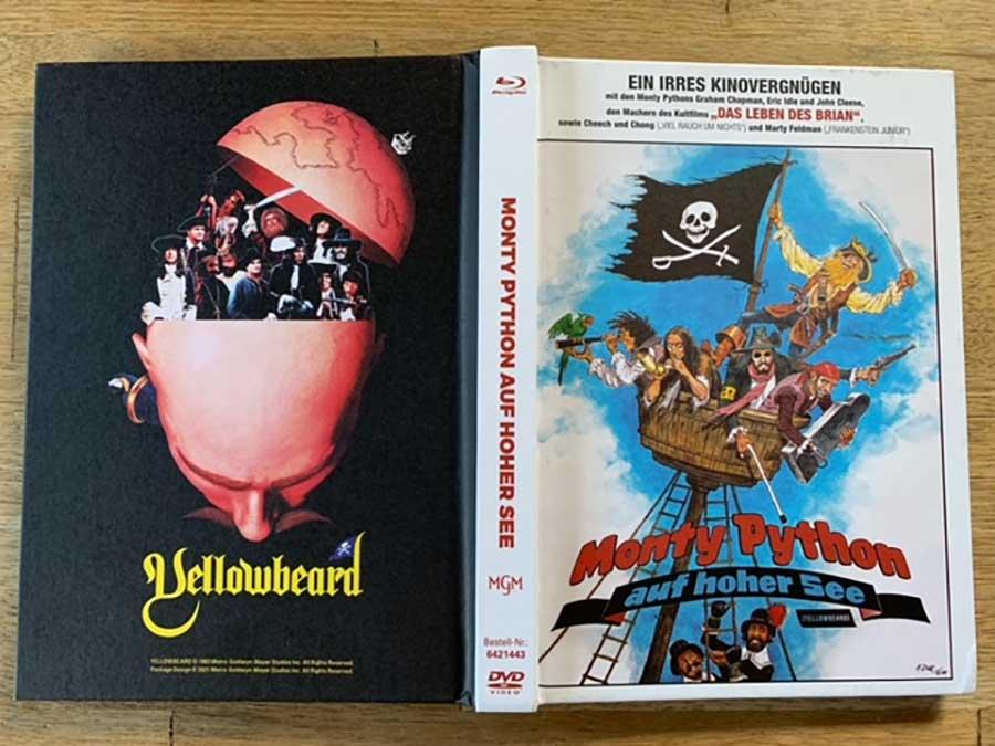 """""""Monty Python auf hoher See (Dotterbart)"""" als 3-Disc Limited Collector's Edition im Mediabook Review Produktbild"""