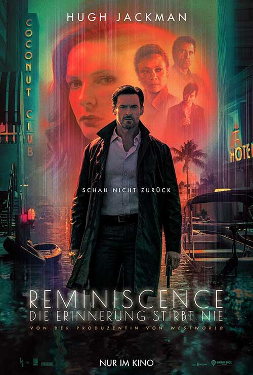 REMINISCENCE: DIE ERINNERUNG STIRBT NIE Film 2021 Kino Plakat