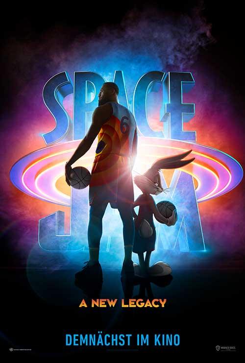 SPACE JAM: A NEW LEGACY Film 2021 Kino Plakat
