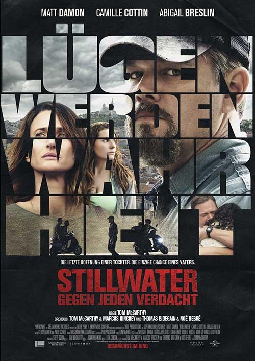 STILLWATER – GEGEN JEDEN VERDACHT Film 2021 Kino Plakat