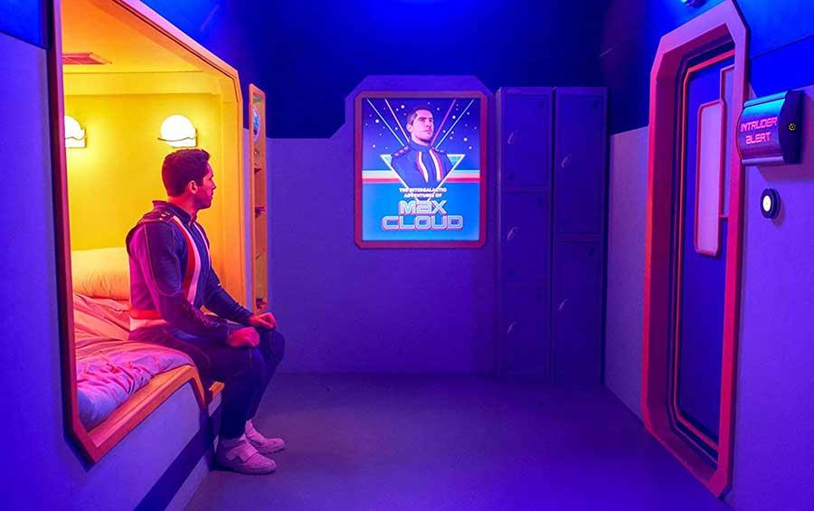The Intergalactic Adventures of Max Cloud – Streaming Review Film 2021 Szenenbild