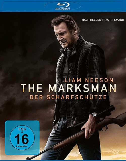 THE MARKSMAN - DER SCHARFSCHÜTZE Film Liam Neeson 2021 Blu-ray Cover shop kaufen