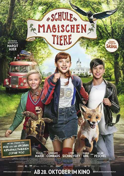 DIE SCHULE DER MAGISCHEN TIERE Kino Plakat Film 2021