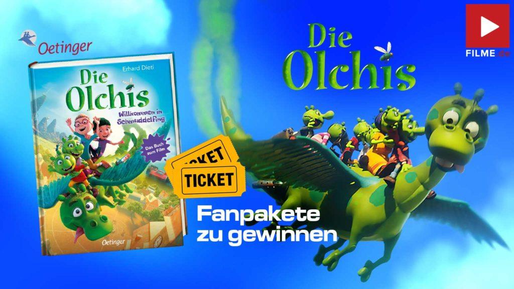 DIE OLCHIS – WILLKOMMEN IN SCHMUDDELFING Film 2021 Kinotickets Buch Gewinnspiel gewinnen