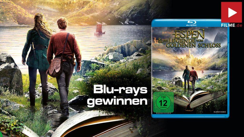 Espen und die Legende vom goldenen Schloss Gewinnspiel gewinnen blu-ray DVD Shop kaufen Artikelbild