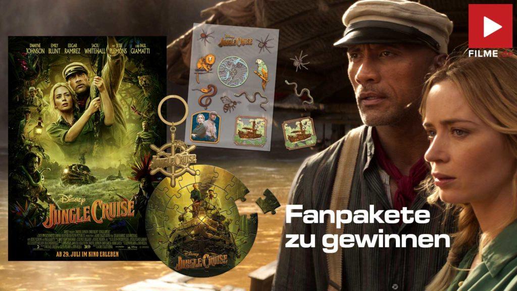 Jungle Cruise Film 2021 Kinostart Gewinnspiel gewinnen Fanpakete Artikelbild