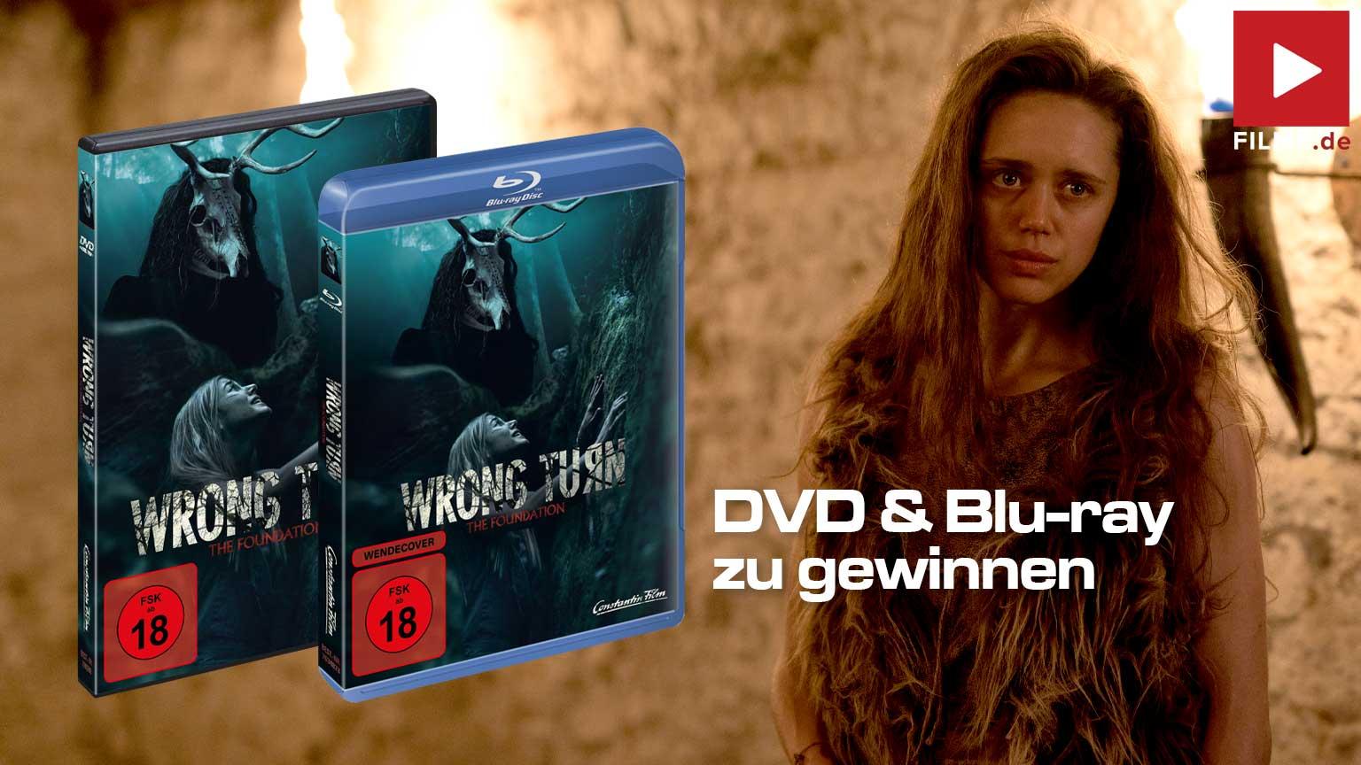 Wrong Turn - The Foundation Film 2021 Gewinnspiel gewinnen Blu-ray DVD Artikelbild