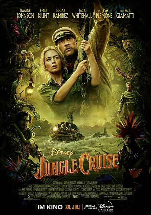 JUNGLE CRUISE Film 2021 Kino Plakat
