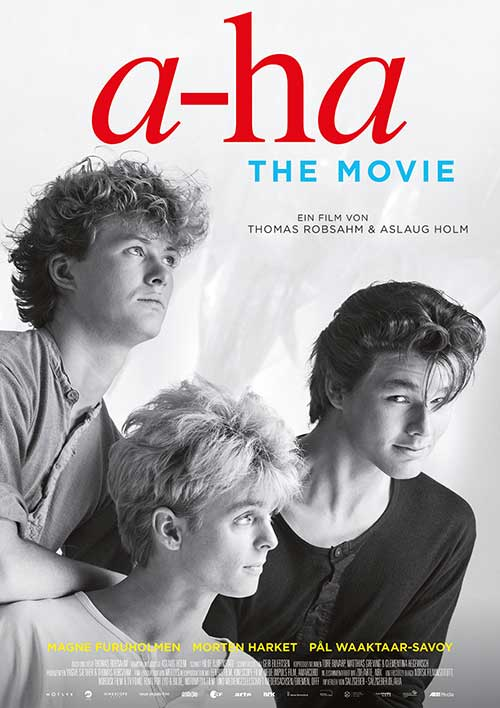 A-HA – THE MOVIE Film 2021 Dokumentation Kinostart Kino Plakat