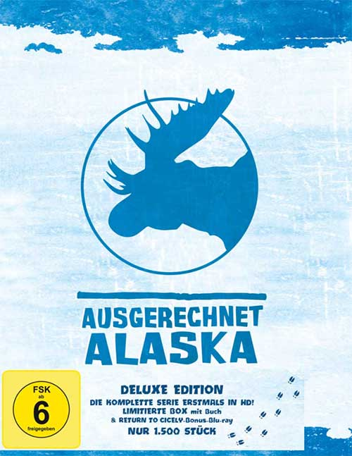 Ausgerechnet Alaska Serie HD Blu-ray Deluxe Edition Box Cover shop kaufen