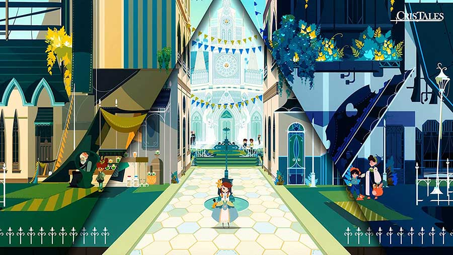 Cris Tales - PS4 Review Spiel 2021 Shop kaufen Szenenbild