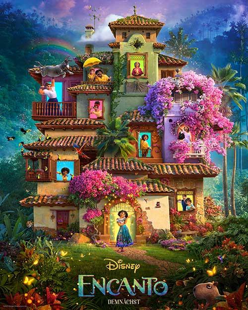 ENCANTO Film 2021 Kino Plakat