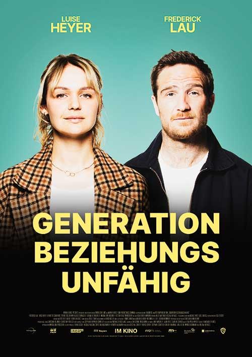 Generation Beziehungsunfähig Film 2021 Kino Plakat
