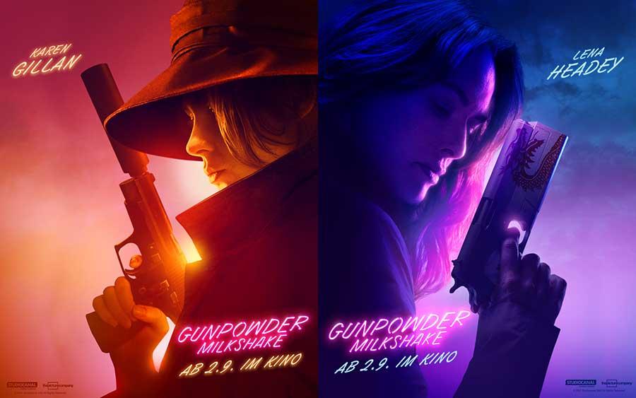 Gunpowder Milkshake Kino Plakate Film 2021
