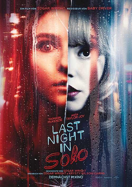 Last Night in Soho Film 2021 Kino Plakat