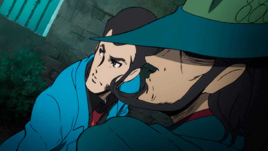 Lupin III: OVA Triple Film 2021 drei Filme Kino Review Szenenbild