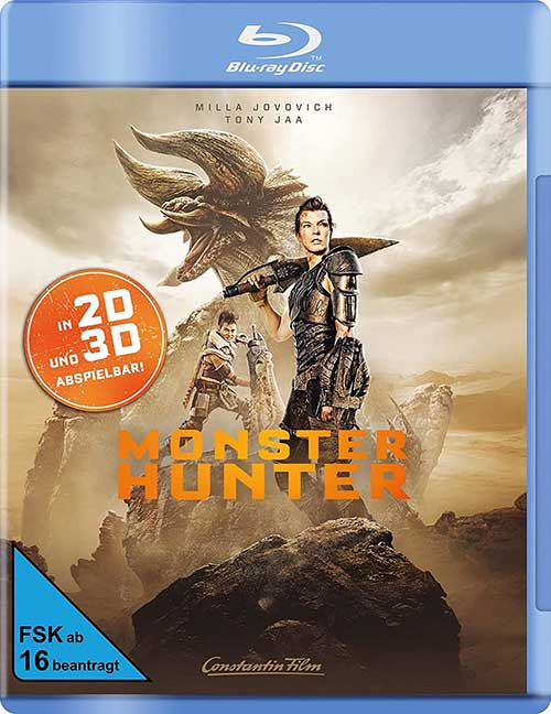 Monster Hunter Film 2021 Blu-ray Cover shop kaufen