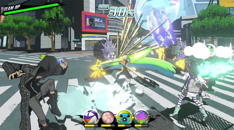 NEO: The World Ends with You - Switch Review Spiel 2021 PS4 Szenenbild