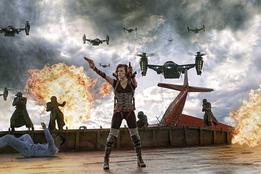Resident Evil 4K UHD Review Szenenbild