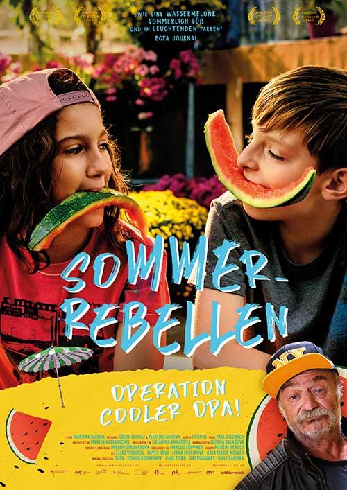 Sommer-Rebellen Film 2021 Kinostart Plakat