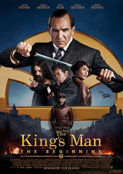 THE KING'S MAN – THE BEGINNING Film 2021 Kinostart Plakat