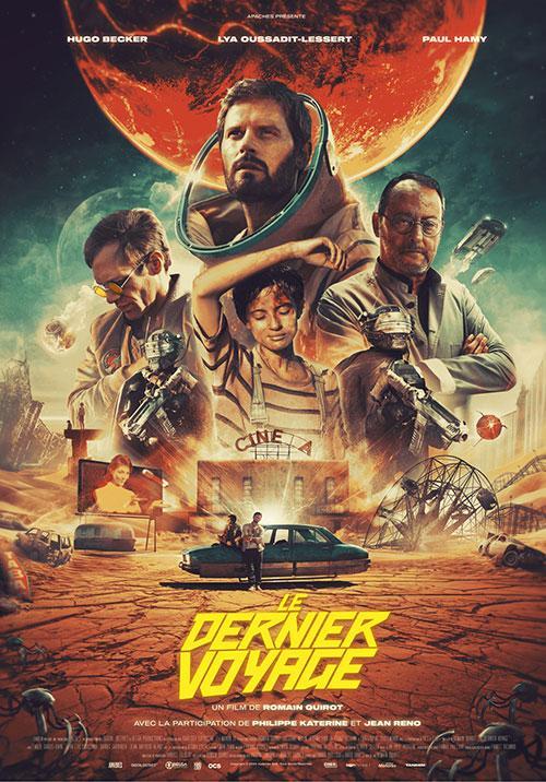 The Last Journey - Die letzte Reise der Menschheit Film 2021 Kino Plakat