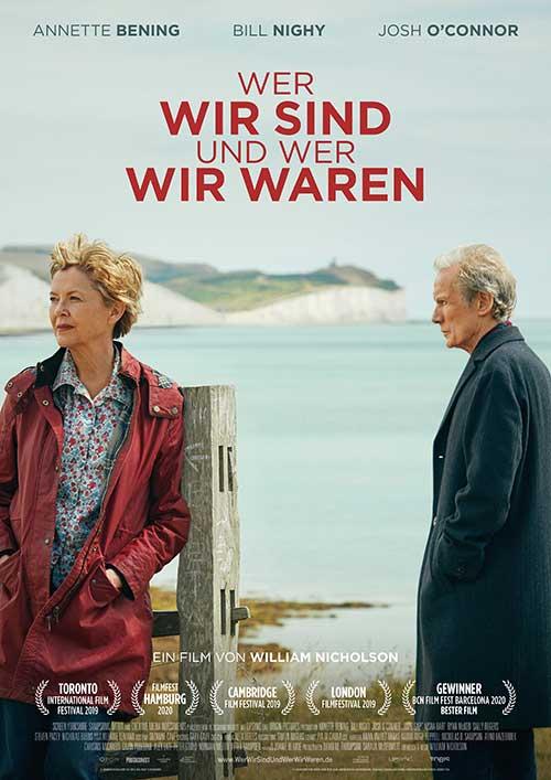 WER WIR SIND UND WER WIR WAREN Film 2021 Kino Plakat