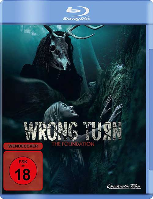 Wrong Turn – The Foundation (2020) Film 2021 Blu-ray DVD Cover shop kaufen
