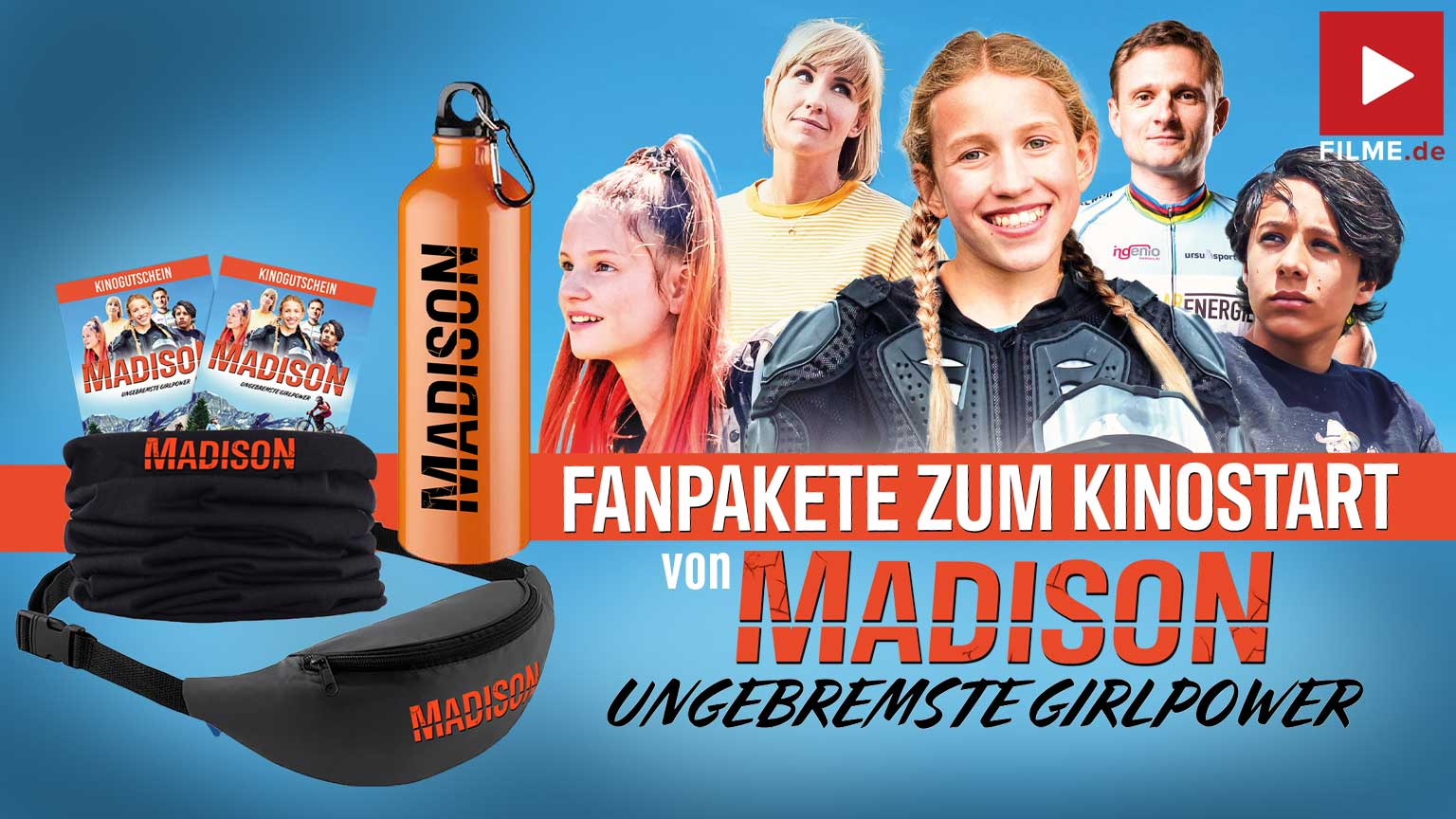 MADISON - Ungebremste Girlpower Film 2021 Gewinnspiel gewinnen Kinotickets Fanpaket Artikelbild