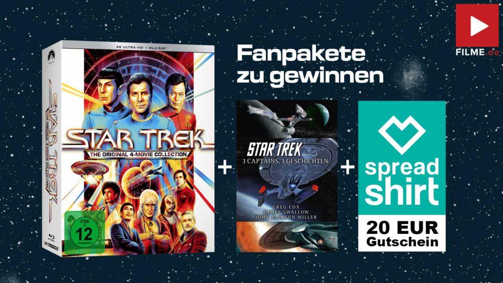 Star Trek 4K 4-Movie Collection Gewinnspiel gewinnen Fanpakete Artikelbild