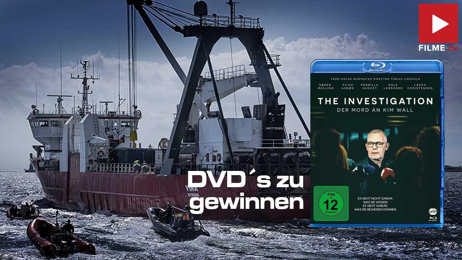 The Investigation – Der Mord an Kim Wall Film Serie 2021 DVD Blu-ray Gewinnspiel gewinnen Artikelbild
