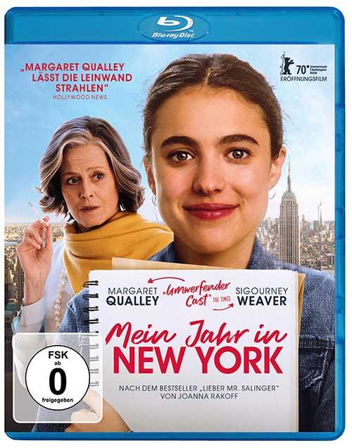 Mein Jahr in New York Film 2021 Trailer Blu-ray Cover shop kaufen