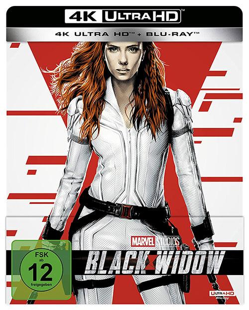 Black Widow 4K UHD Steelbook Cover shop kaufen Film 2021