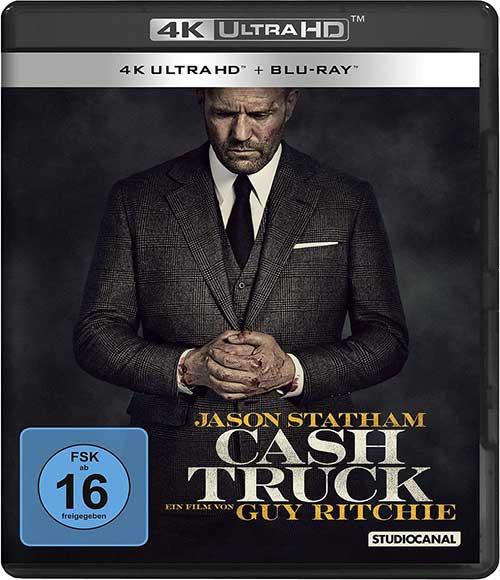 Cash Truck Film 2021 Blu-ray 4K UHD Cover shop kaufen