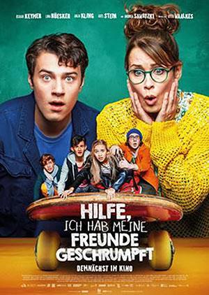 HILFE, ICH HAB MEINE FREUNDE GESCHRUMPFT Film 2021 Kino Plakat