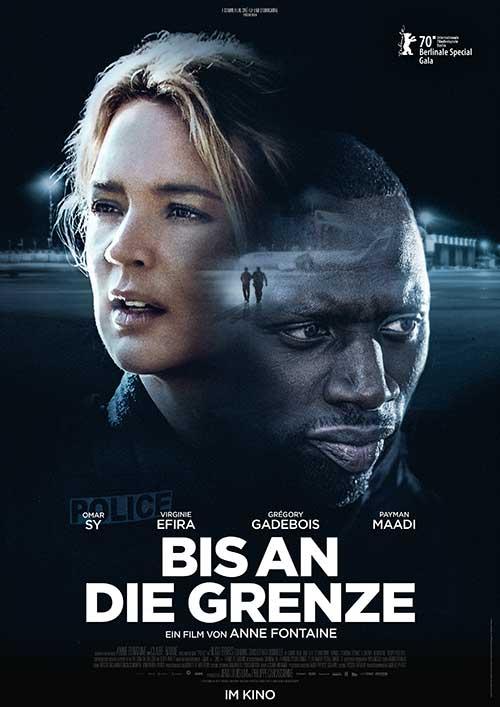 BIS AN DIE GRENZE Film 2021 Kino Plakat