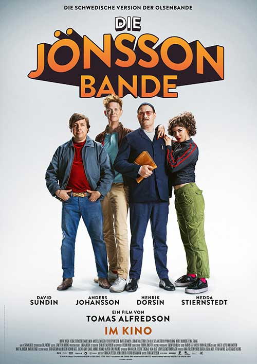 DIE JÖNSSON BANDE Film 2021 Kino Plakat
