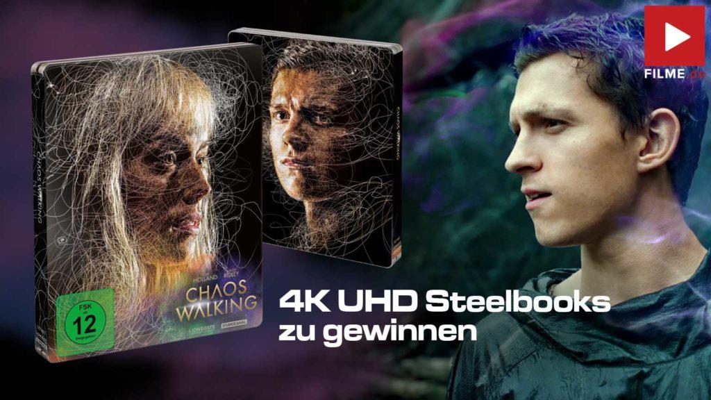 Chaos Walking Film 2021 Blu-ray STeelbook Gewinnspiel gewinnen Artikelbild