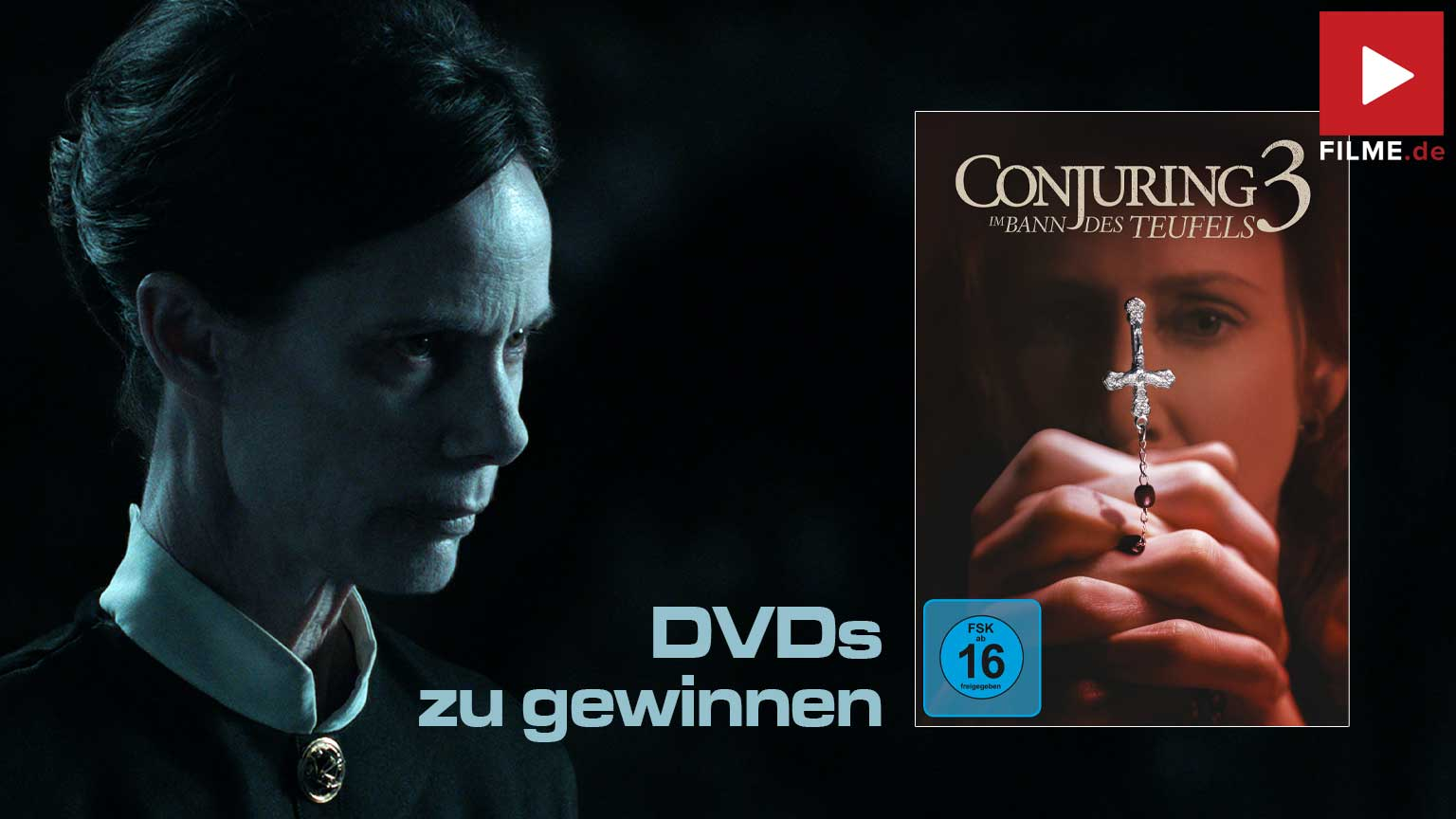 Conjuring 3: Im Bann des Teufels Gewinnspiel gewinnen DVD
