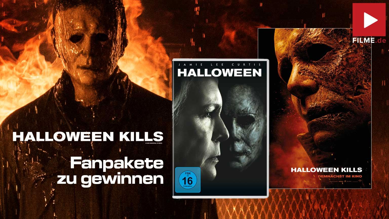 Halloween Kills Film 2021 Gewinnspiel gewinnen Fanpaket Film 2018 Poster Artikelbild