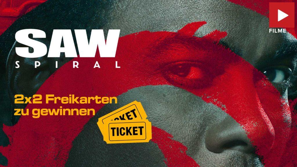 SAW: SPIRAL Film 2021 Gewinnspiel Tickets Kino Artikelbild