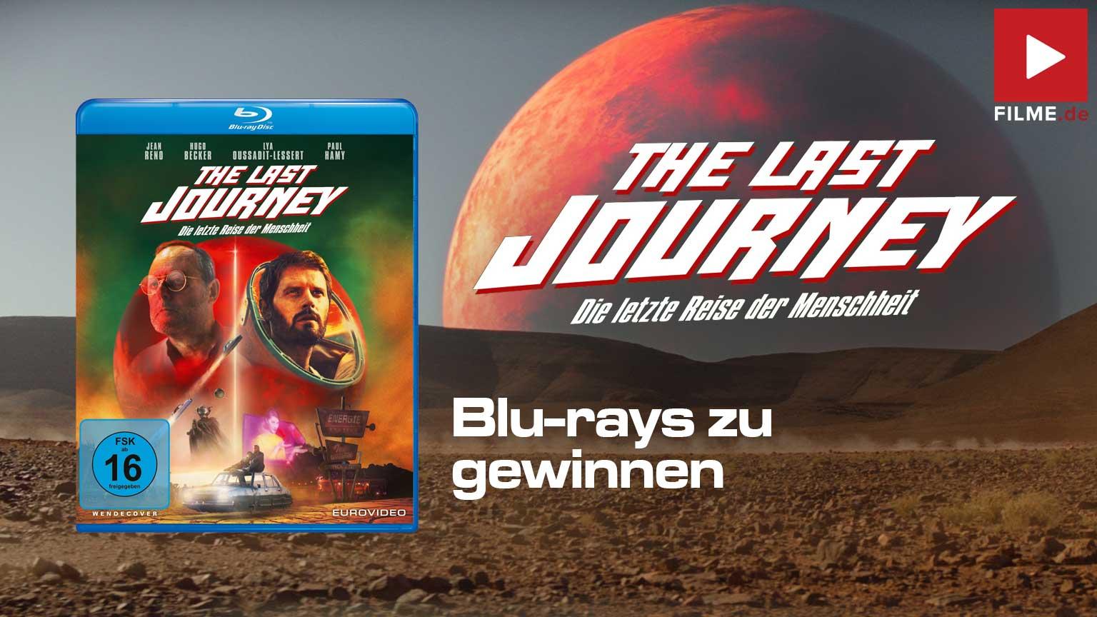 The Last Journey - Die letzte Reise der Menschheit Gewinnspiel Blu-ray Artikelbild