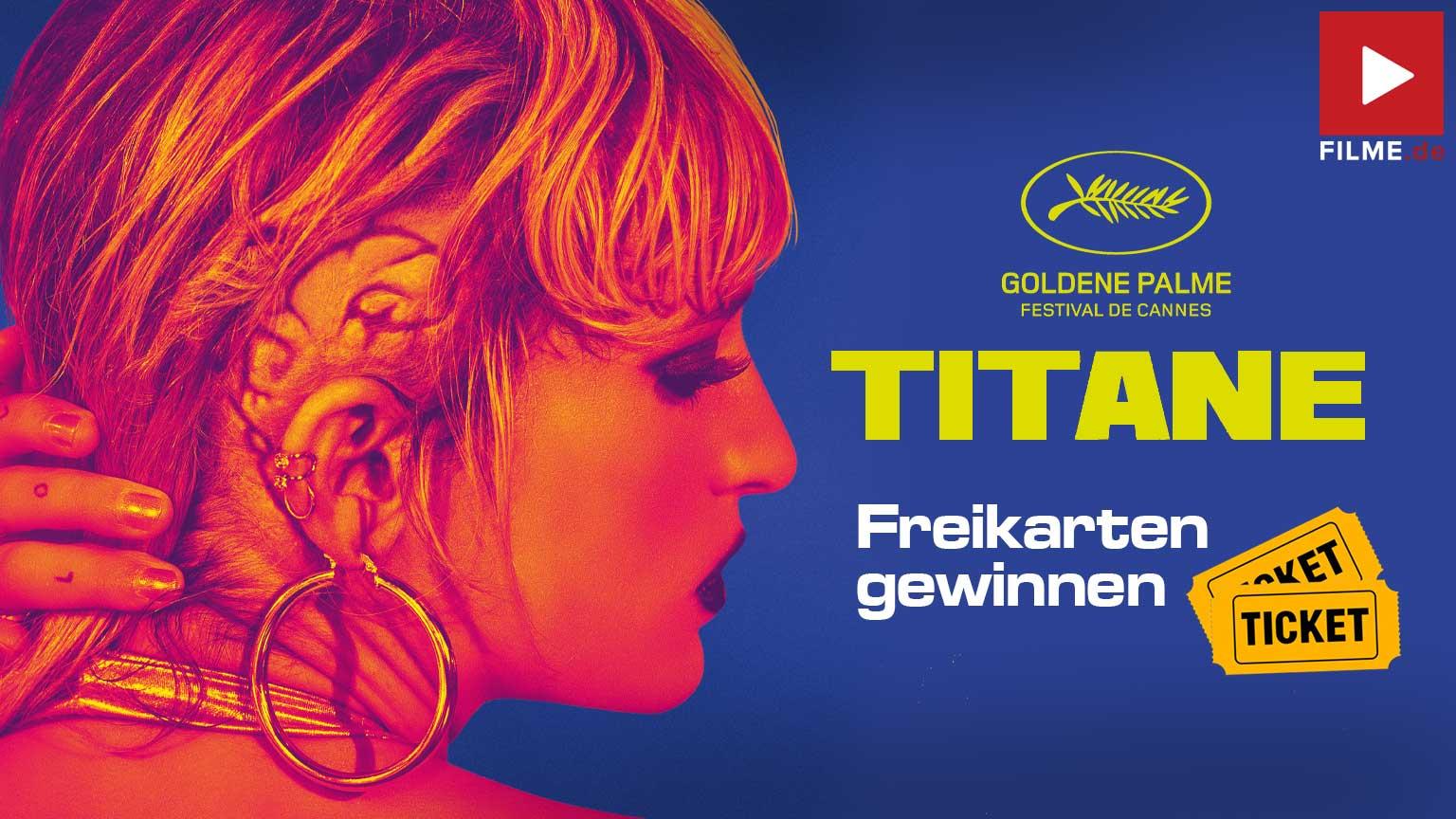 TITANE Film 2021 Kino strat Tickets Gewinnspiel gewinnen Artikelbild
