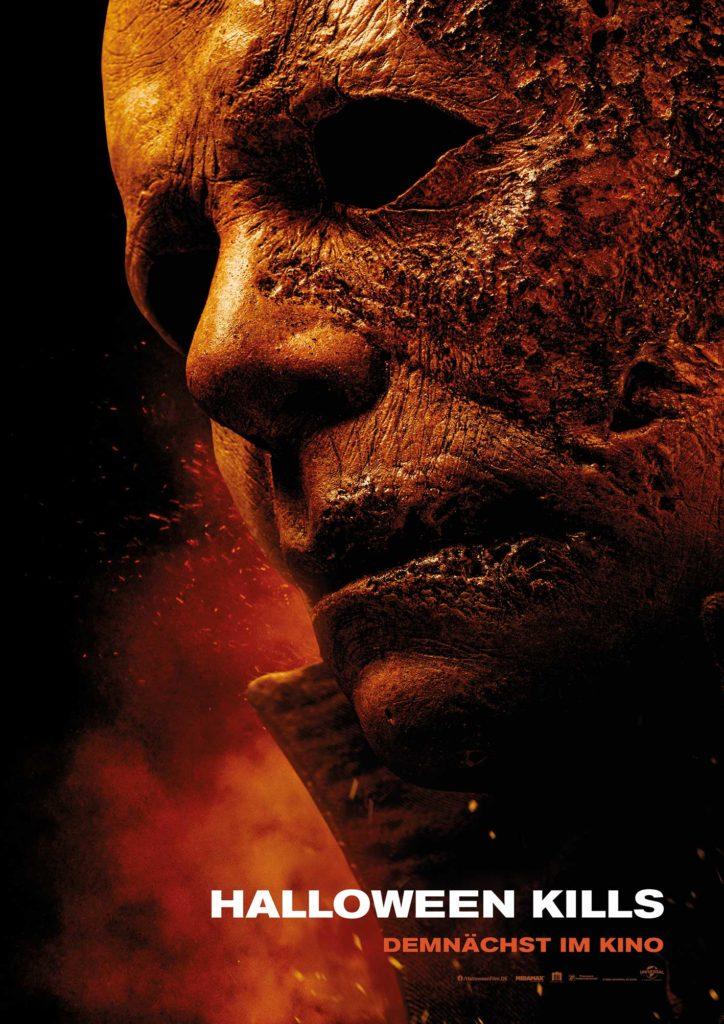 Halloween Kills Film 2021 Kino Plakat
