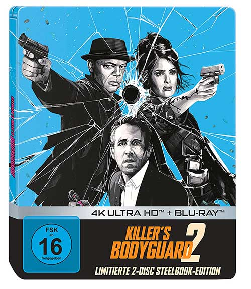 Killer's Bodyguard 2 - Limited Steelbook (4K Ultra HD + Blu-ray) (exklusiv bei Amazon.de) [Blu-ray] Cover shop kaufen