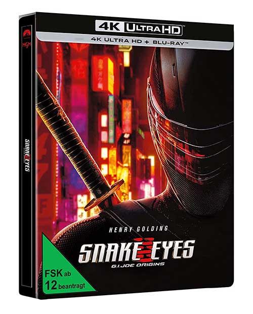 SNAKE EYES: G.I. JOE ORIGINS [4K UHD] Limited Edition Cover shop kaufen