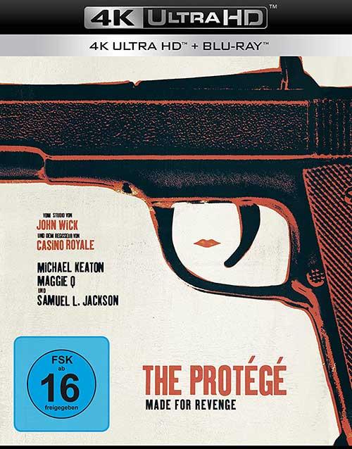 The Protege - Made for Revenge 4K UHD Film 2021 Cover shop kaufen