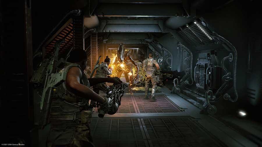 Aliens: Fireteam Elite – PS5/PS4 Review Spiel 2021 Szenenbild