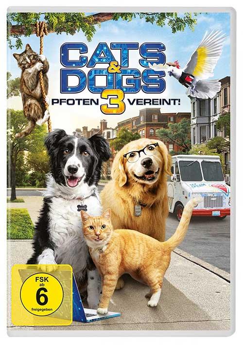 CATS & DOGS 3 - Pfoten vereint! DVD shop kaufen Cover