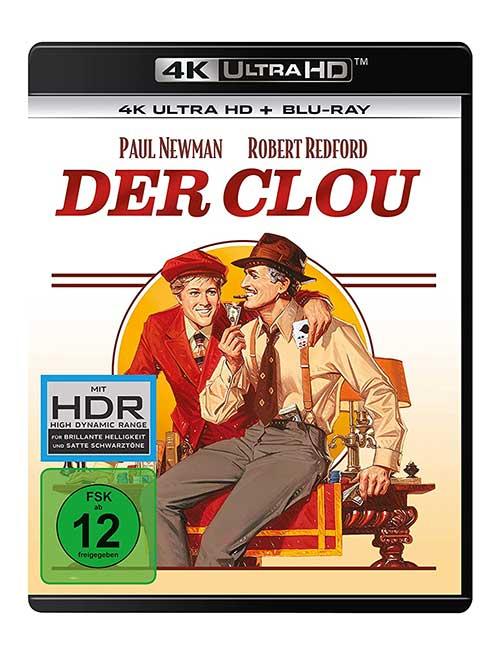 Der Clou  (4K Ultra HD) (+ Blu-ray 2D) Film Cover shop kaufen